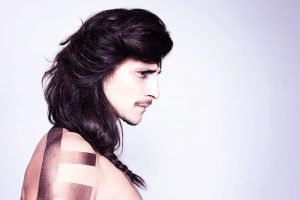 icono Collection 2014 Trends Hairfashion Men Braids Longhair Men Hairstyling