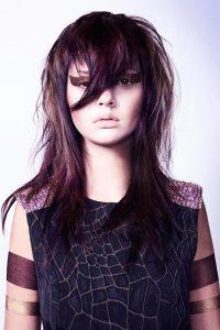 icono Collection 2014 Trends Hairfashion Spiky Fringe gestufter Langhaarschnitt