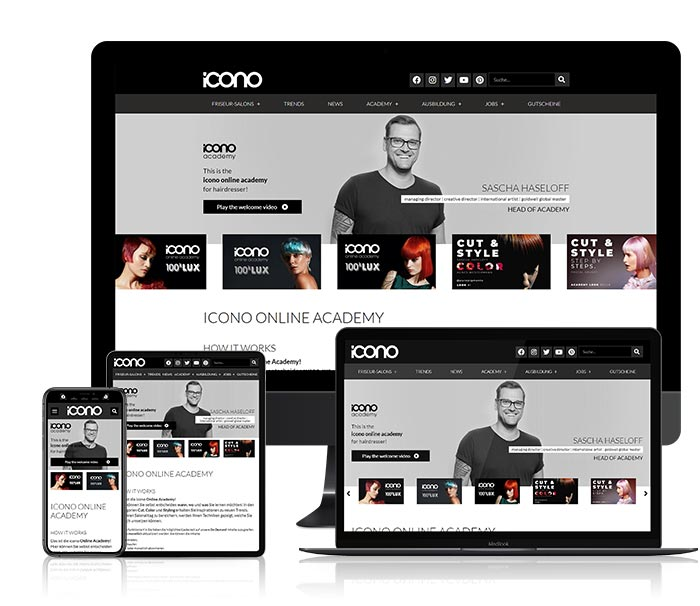 icono online academy Friseur Seminare