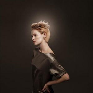 icono Collection 2012 Trends Hairfashion Square Bob blond Kurzhaarschnitt