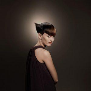 icono Collection 2012 Trends Hairfashion short hair blond Kurzhaarschnitt präzises Haare schneiden