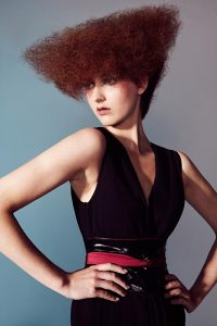 icono Collection 2013 Trends Hairfashion textured hairstyle texturiertes Haarstyling Trapez Form