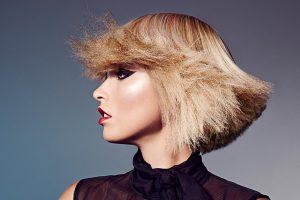 icono Collection 2013 Trends Hairfashion Blond Bob texturiert