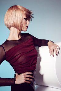 icono Collection 2013 Trends Hairfashion blond Bob konkav