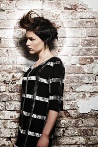 icono Collection 2011 Trends Hairfashion Short Hair textured short hairstyle