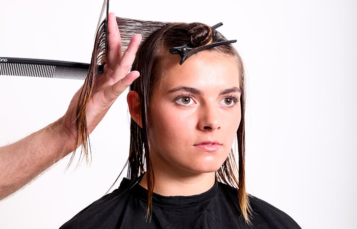 Basis Haarschnitt Seminar Basic Cutting