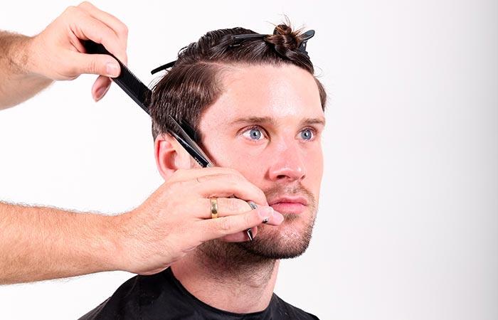 Basis Men Cut Seminar Basis Haarschneide Techniken