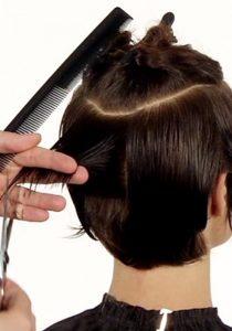 Ausbildung Friseur Berlin icono Haarschnitt Step4