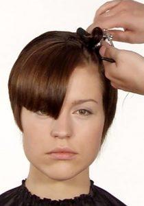 Ausbildung Friseur Berlin icono Haarschnitt Step7