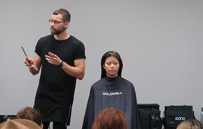 Friseur Modell Seminar Modell Haarmodell