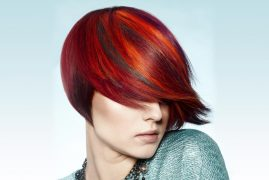 ginger hair rot Haare Highlights
