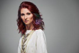 rote Haare Wavy Hair