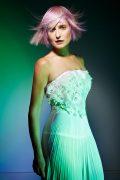 Light Pink Hair icono Hair Fashion Choppy Fringe