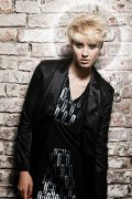 icono Collection 2011 Trends Hairfashion Short Hair Blond Kurzhaarfrisur